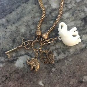 Jewelry - Elephant Charm necklace
